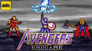 Este gran vídeo recrea la batalla final de Vengadores: Endgame en 16-bits