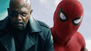 Samuel L. Jackson se enfada con este detalle de un póster promocional de Spider-Man: Lejos de Casa
