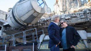 Mark Hamill se reúne con Harrison Ford en estas fotos emotivas