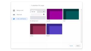 Google Chrome estrena temas de colores y nuevas opciones de personalización