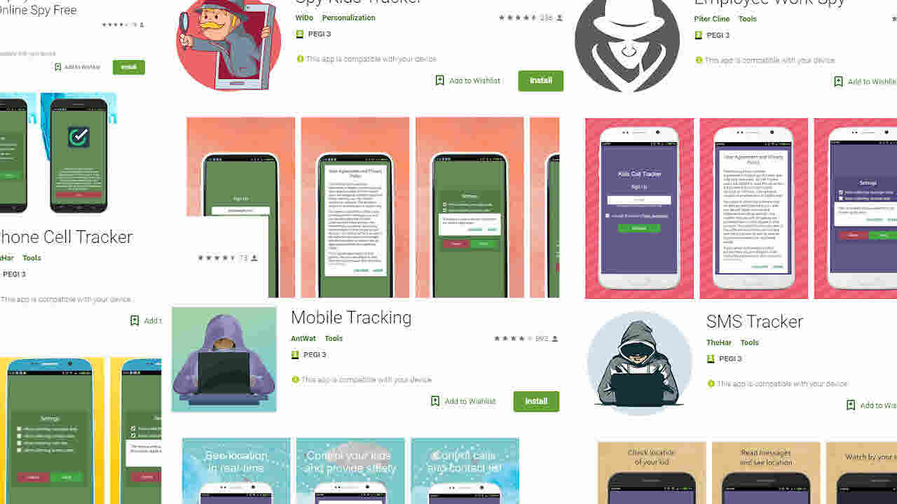 Google elimina siete apps en Play Store que servían para espiar a la gente