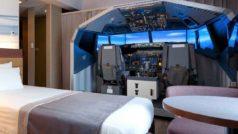 Este hotel de Tokio te ofrece una habitación con su propio mega-simulador de vuelo Boeing 737