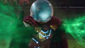 En una versión temprana de Lejos de Casa, Mysterio escondía una sorpresa literalmente de otro mundo