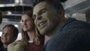 El aspecto del Profesor Hulk en Endgame no estuvo terminado hasta literalmente el último momento