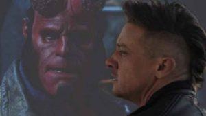 Jeremy Renner, Ojo de Halcón en Vengadores: Endgame, estuvo a punto de ser Hellboy