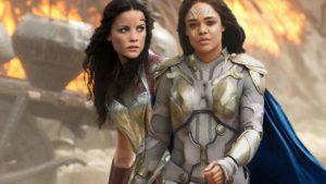 Lady Sif (Jaimie Alexander) se apunta encantada a ser la pareja de Valkiria en Thor: Love and Thunder