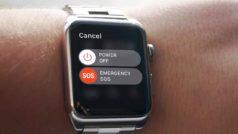 Un hombre evita ahogarse gracias a la llamada de emergencia de Apple Watch
