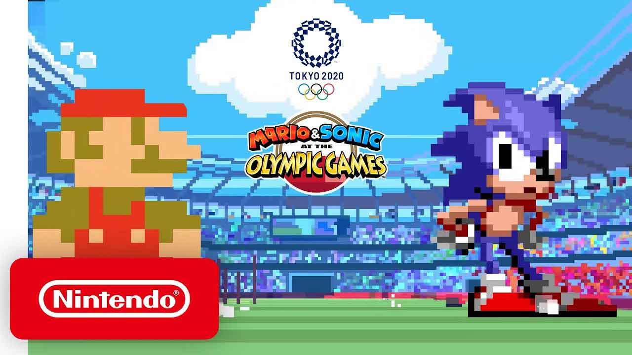 El Mario y el Sonic más clásicos regresan para los Juegos Olímpicos 2020