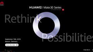Huawei presenta las actualizaciones de Android 10 para sus teléfonos