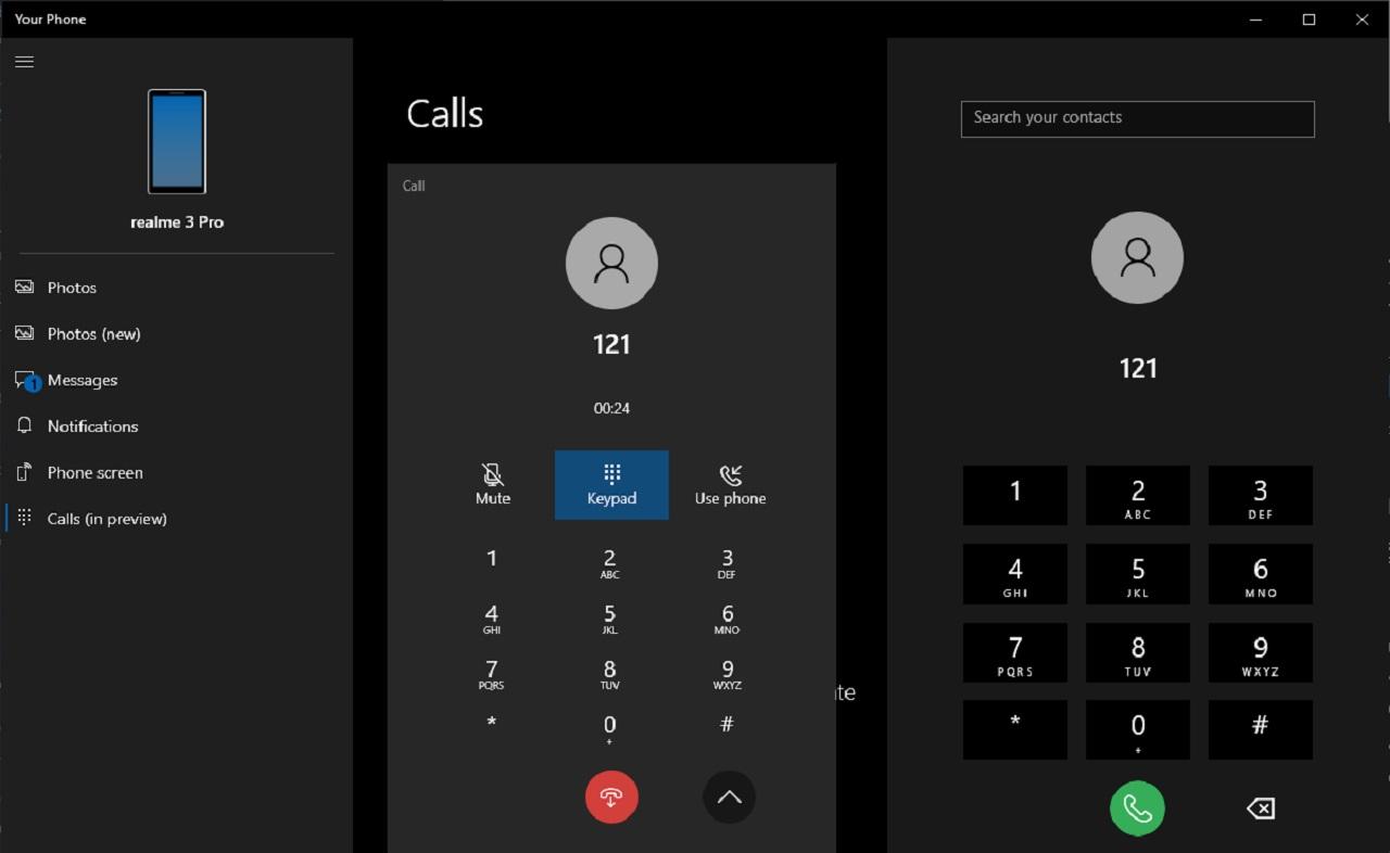 Windows 10 dejará hacer llamadas desde el escritorio con la app Your Phone