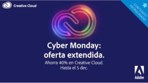 Cyber Monday: Oferta increíble en servicios Adobe Creative Cloud