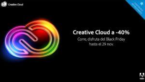 Black Friday: Oferta increíble en servicios Adobe Creative Cloud