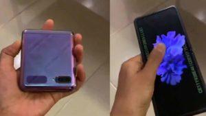Filtración: un nuevo vídeo revela el misterioso móvil plegable Samsung Galaxy Z Flip