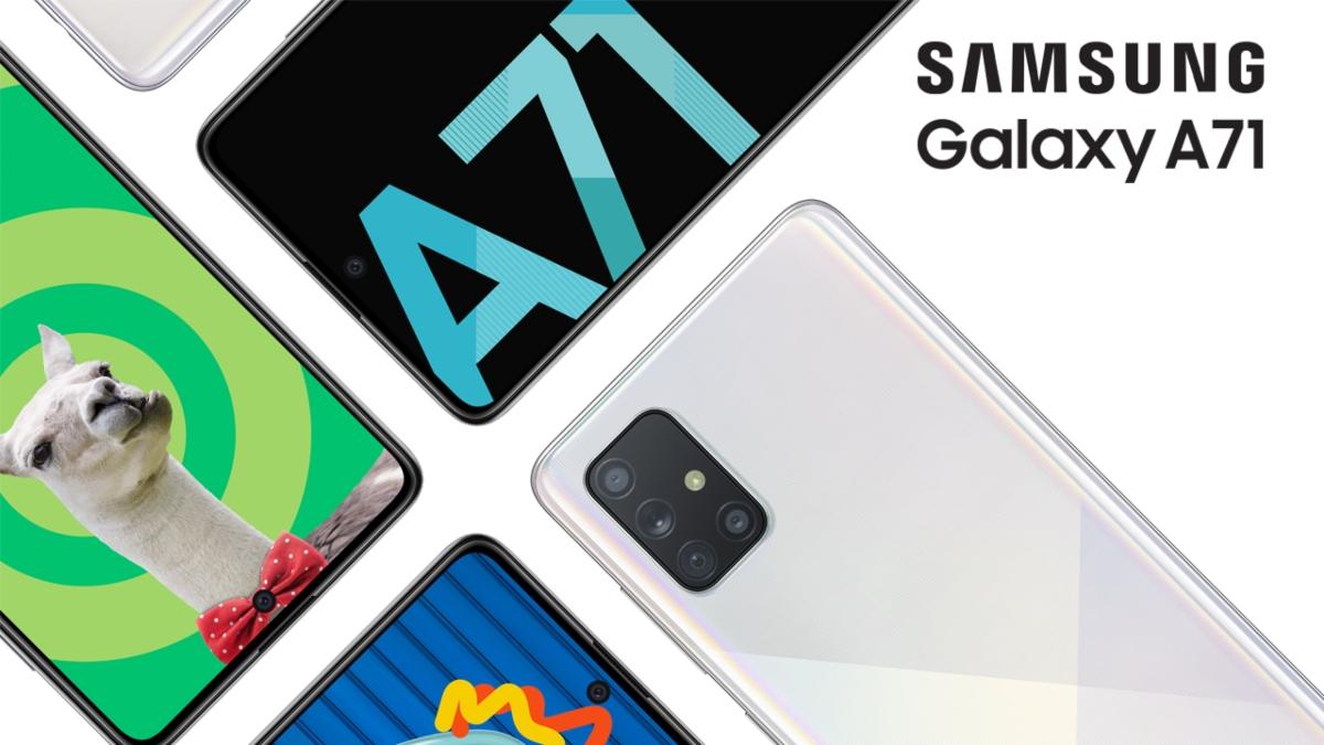 Galaxy A71, el smartphone definitivo para los que viven la vida a tope