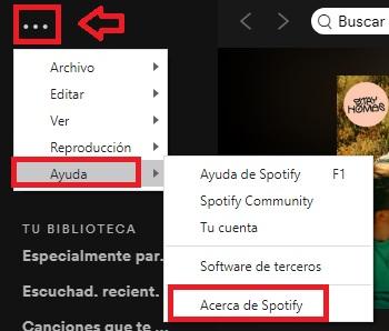 Cómo actualizar Spotify