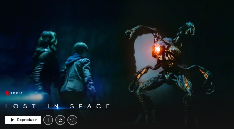 Lost in Space en Netflix