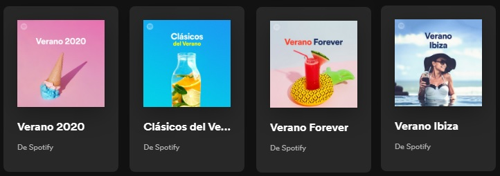 Playlist verano de Spotify