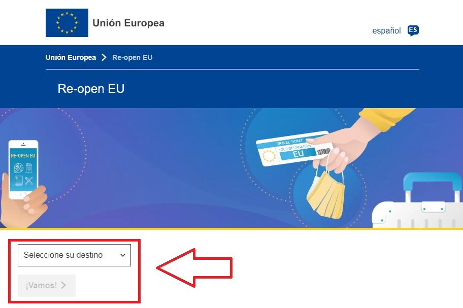 Web Unión Europea