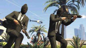Cómo hacer golpes en GTA V Online