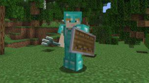 Cómo hacer un escudo en Minecraft