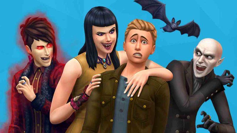 Los Sims 4: los mejores trucos para ser un vampiro