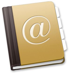 make the best of mac os x address book