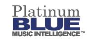 Platinum Blue Music Intelligence