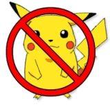Pikachu banned