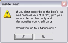 Create prank error messages