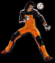 Kicks Online character