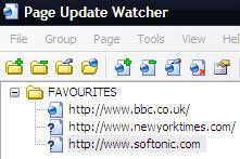 Page Update Watcher screenshot