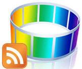 Roxio Media Ticker logo