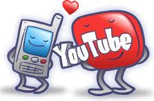 YouTube mobile video logo