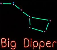 Big Dipper - easy to spot!