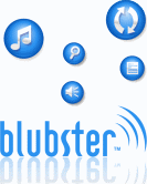 Blubster logo