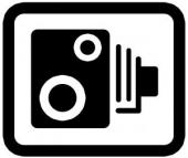 speed camera logo