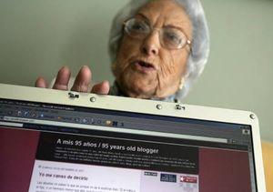 Grandmas love Internet too!