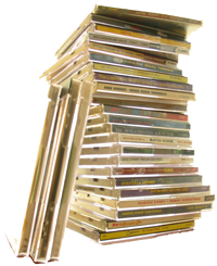 A pile of CDs