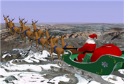 Santa Google Earth