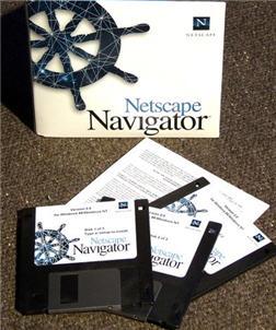 Netscape Navigator Box