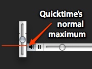 Quicktime overdrive