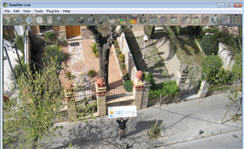 Live streaming satellite images of my house