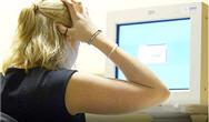 Stressed e-mailer