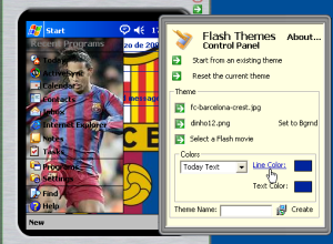 Set a Start menu background