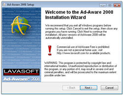 First look at Ad-Aware 2008 Beta