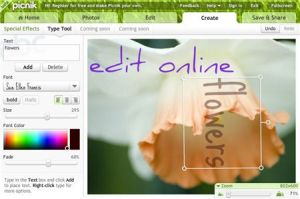 Enjoy a feast of editing tools in Picnik