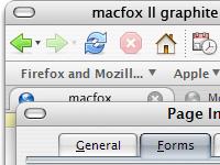 macfox II graphite theme