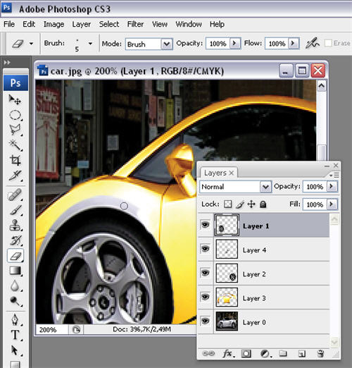 Pimp your car in Photoshop