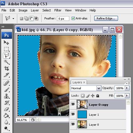 Andy Warhol effect Photoshop tutorial