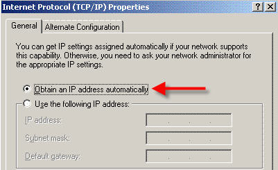 Internet Protocol screenshot